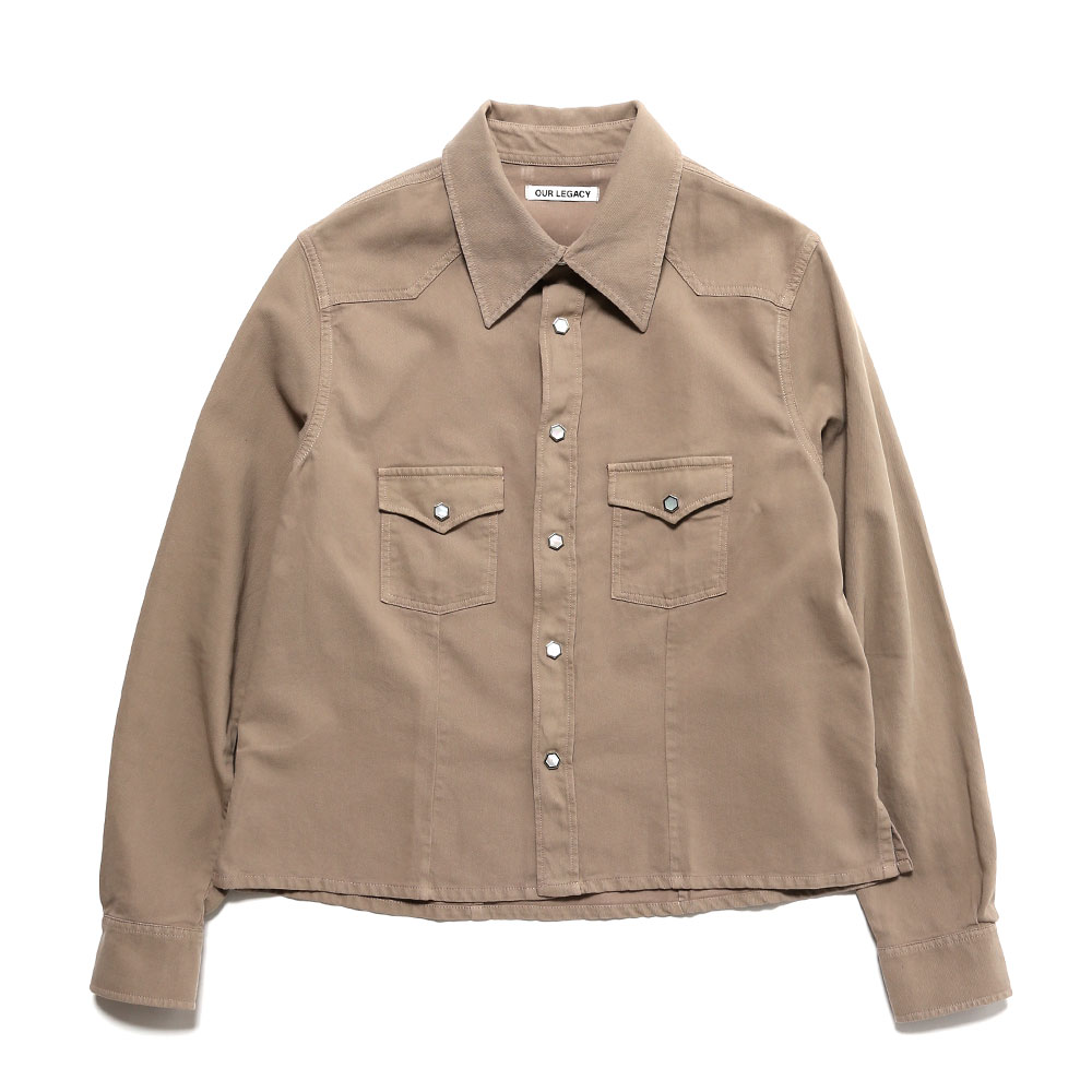 SHRUNKEN FRONTIER SHIRT RODEO SAND