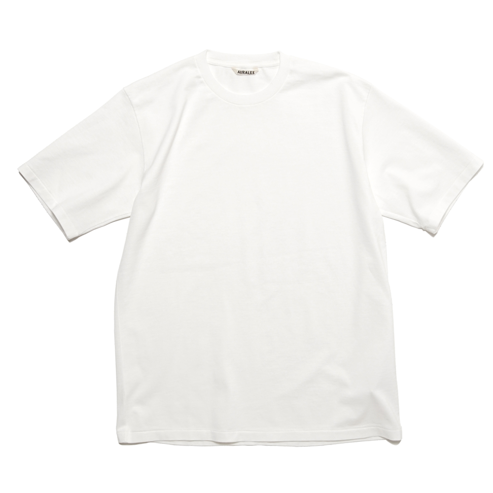 LUSTER PLATTING TEE A00ST02GT WHITE