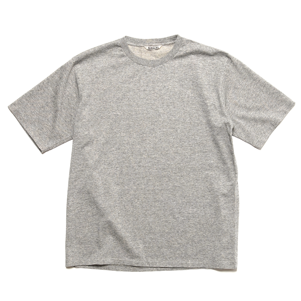 LUSTER PLATTING TEE A00ST02GT TOP GRAY