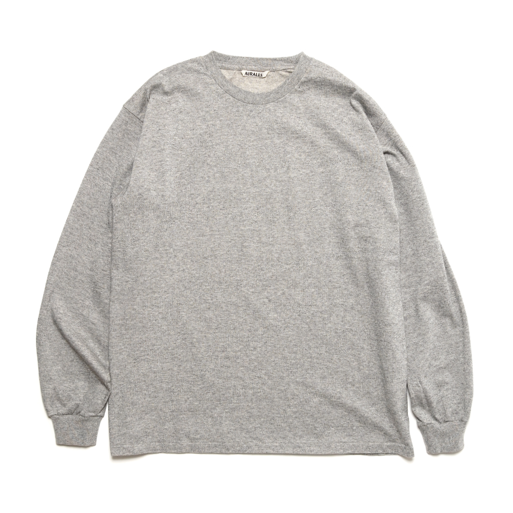 LUSTER PLATTING L/S TEE A00SP01GT TOP GRAY