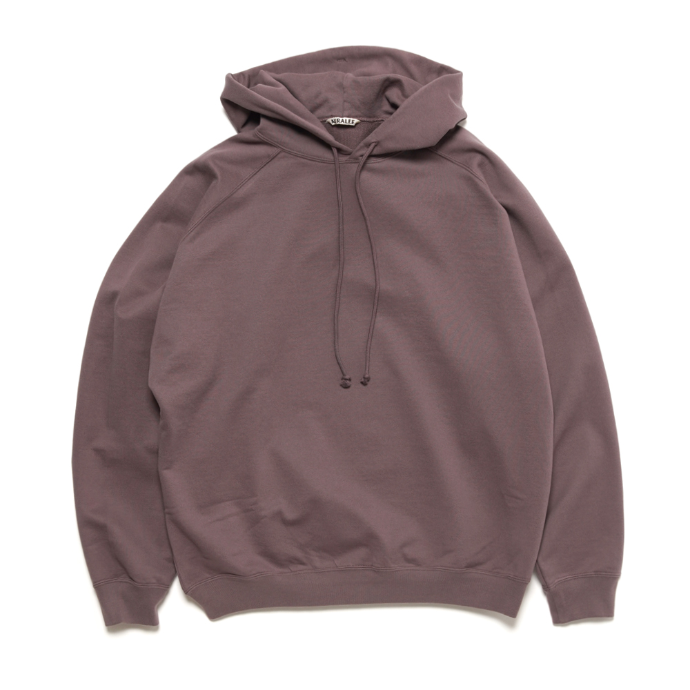SUPER SOFT SWEAT BIG P/O PARKA A21SP01GU PURPLE