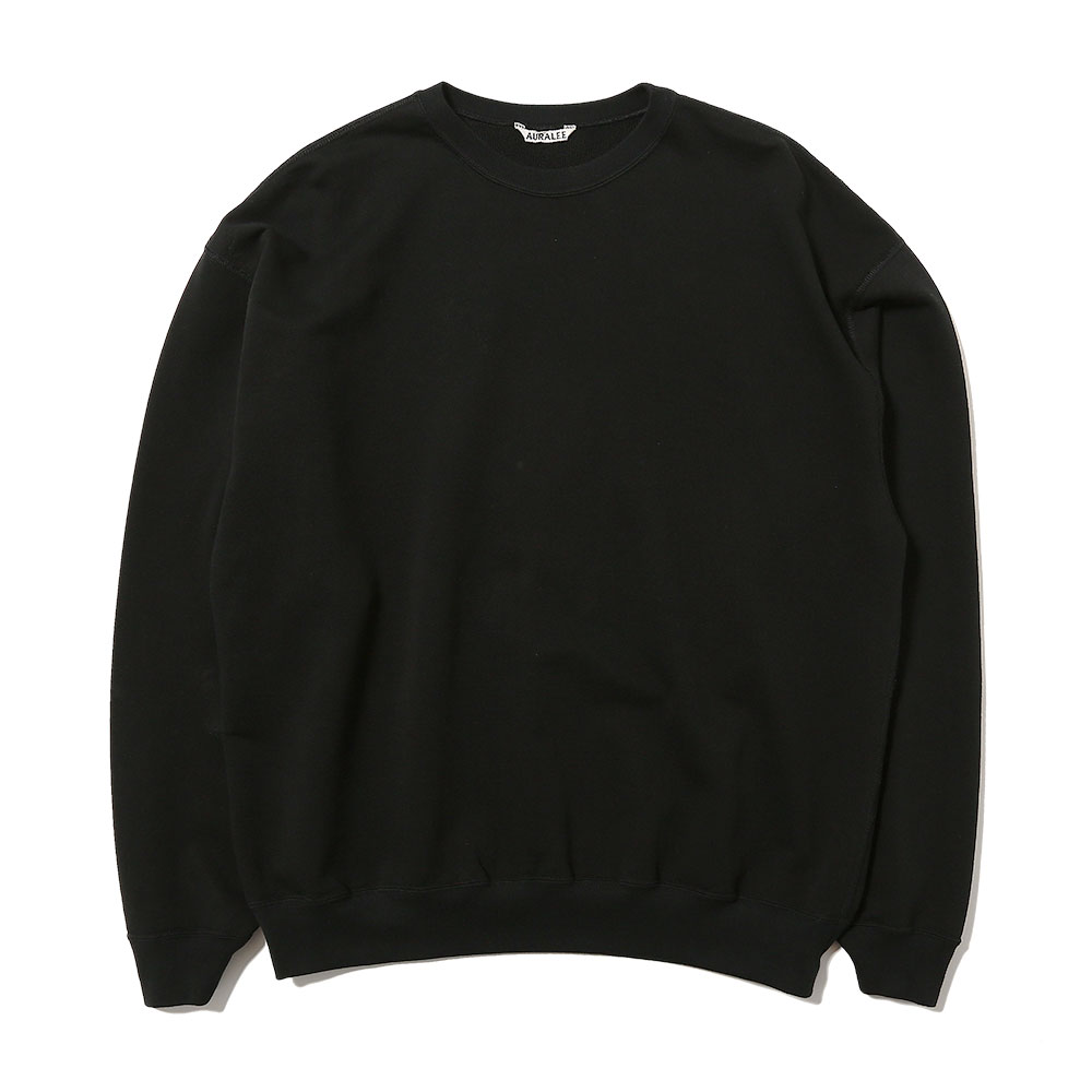 SUPER SOFT SWEAT BIG P/O BLACK