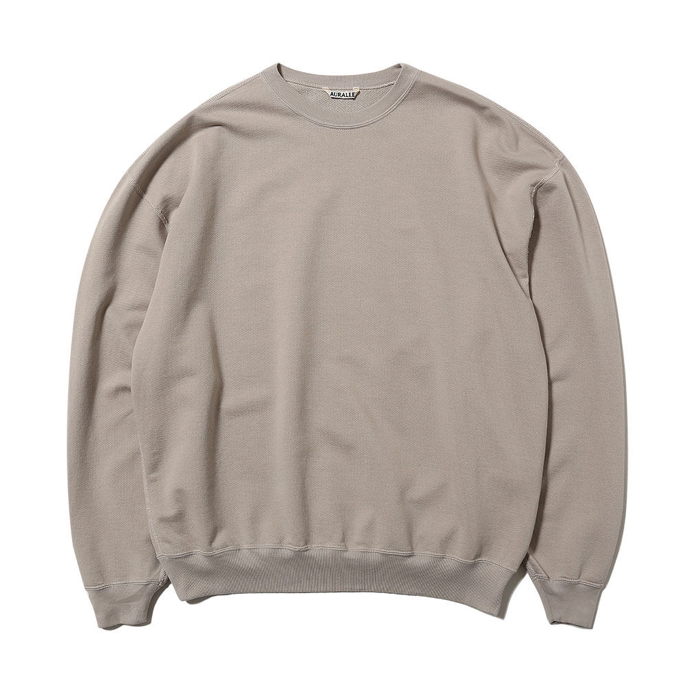 SUPER SOFT SWEAT BIG P/O LIGHT GRAY
