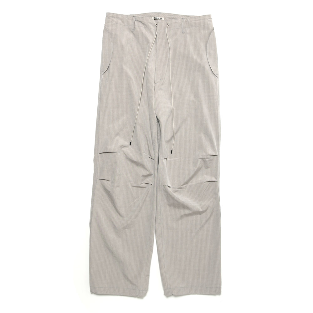WASHED FINX RIPSTOP CHAMBRAY FIELD PANTS A21SP04FL LIGHT GREY