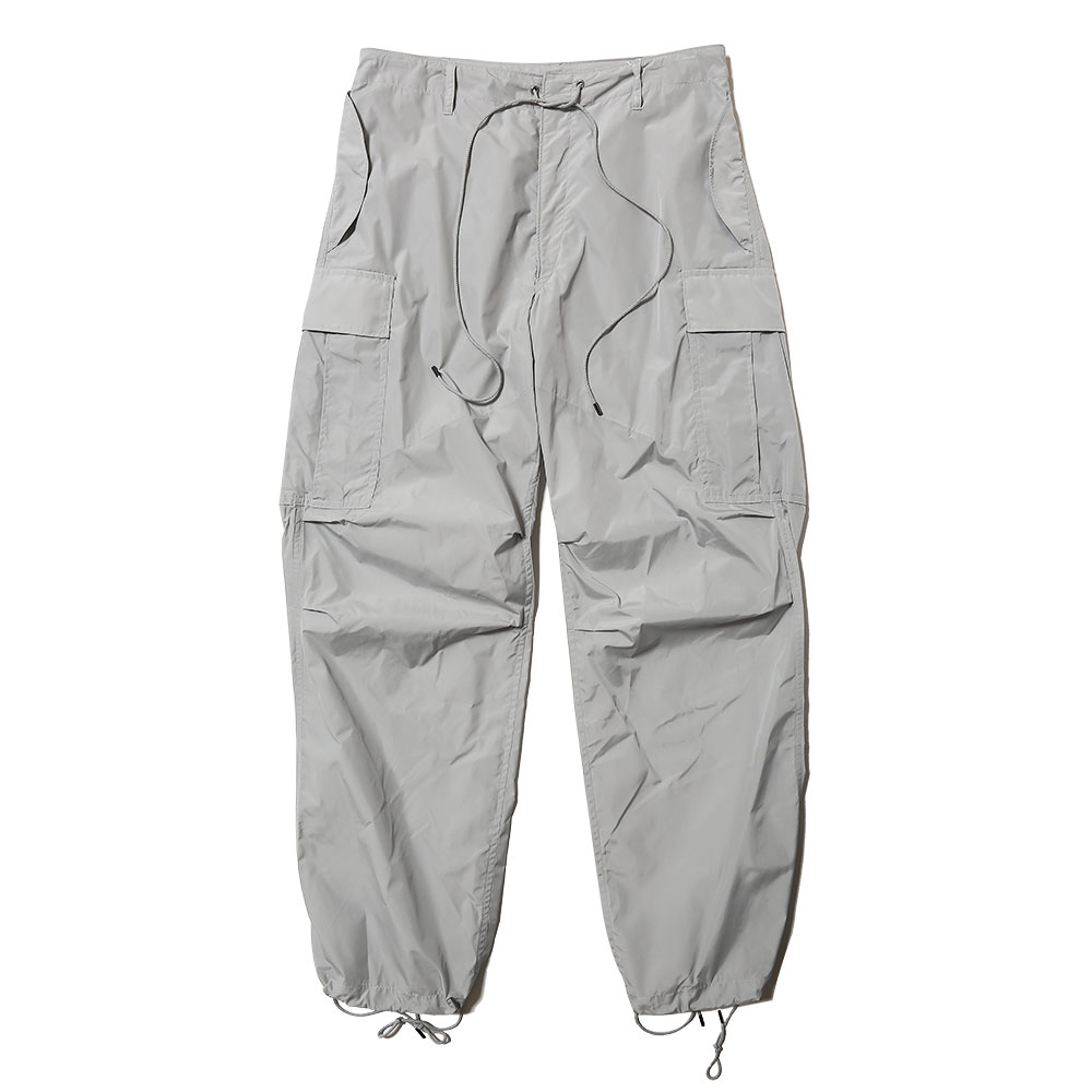 LIGHT NYLON FATIGUE PANTS LIGHT BLUE