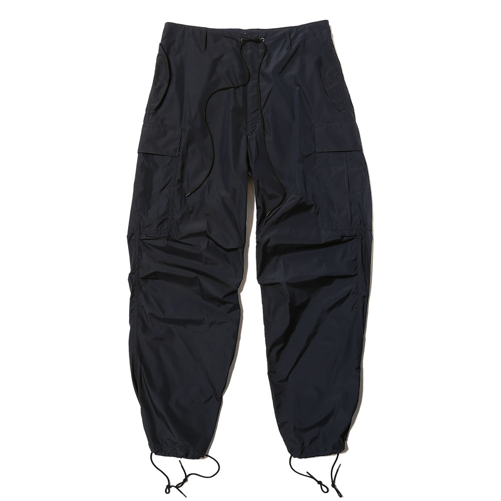 LIGHT NYLON FATIGUE PANTS DARK NAVY
