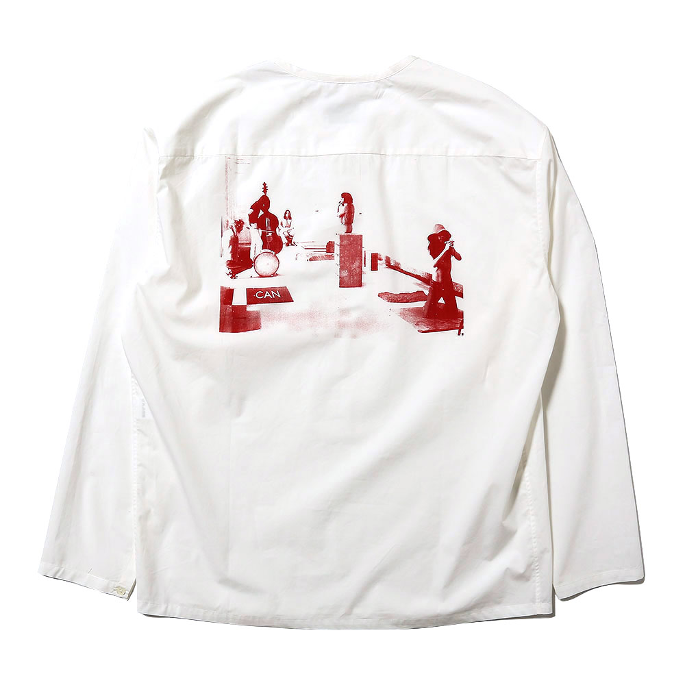 REHEARSAL PRINTED TOP (LEMAIRE x CAN) WHITE