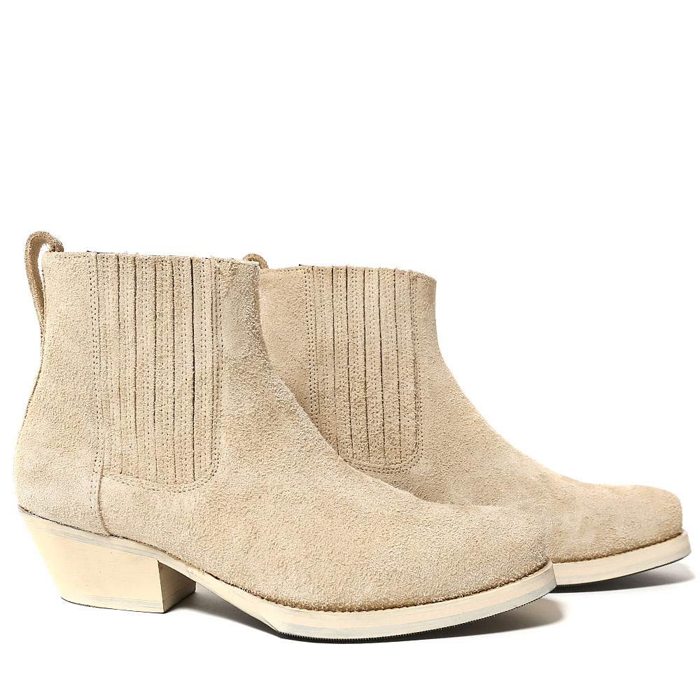 CUBAN BOOT BEIGE SUEDE