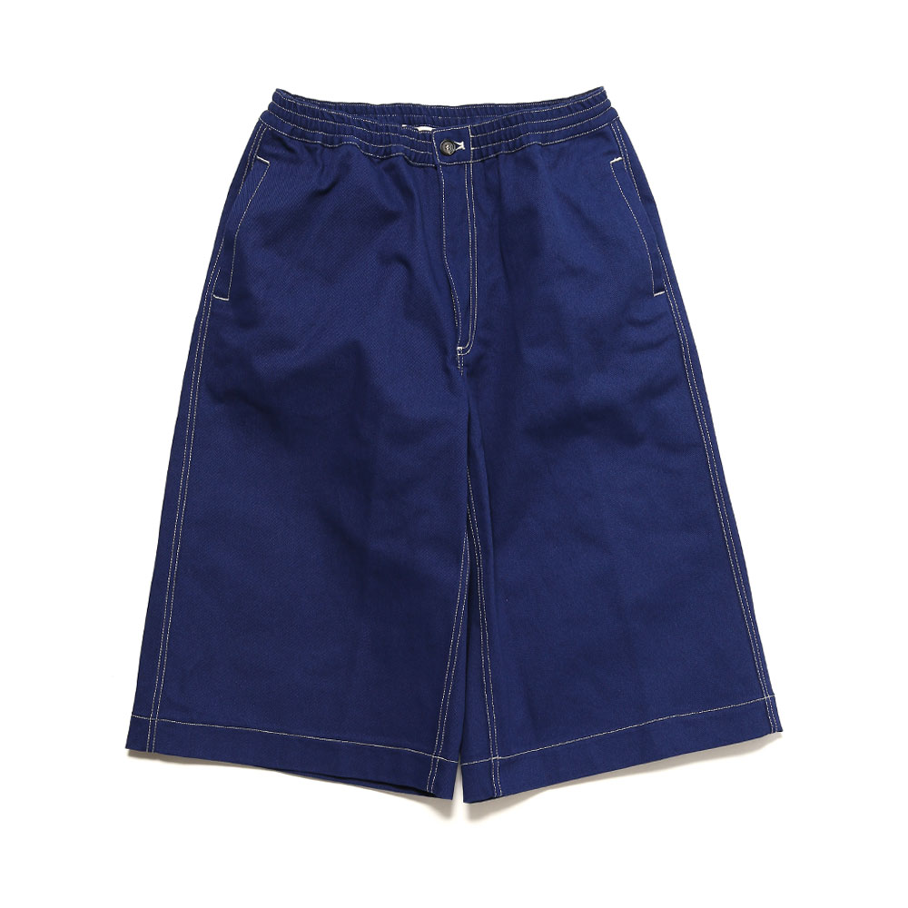 COTTON TWILL SHORTS BLUE ROYAL