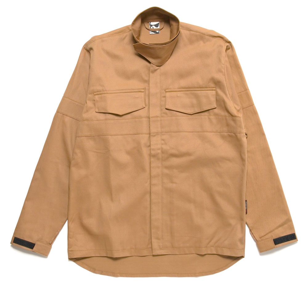 TNF FIREPANEL ZIP OVERSHIRT KHAKI
