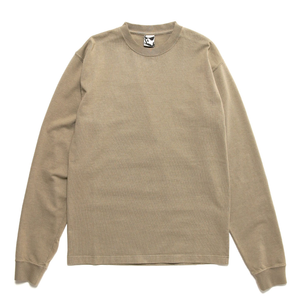 ALL SEASONS UTILITY LONG SLEEVE T SHIRT TAUPE
