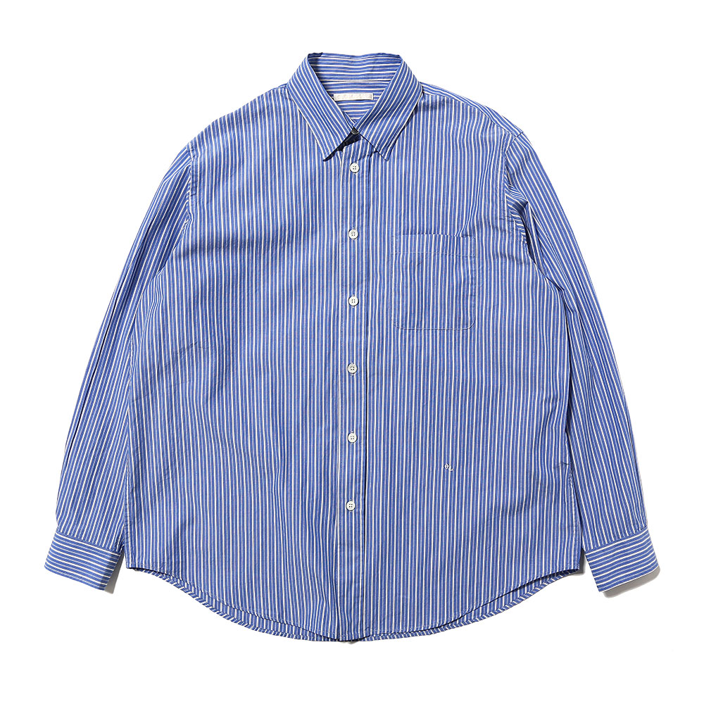 NEW BD SHIRT BLUE STRIPE COTTON