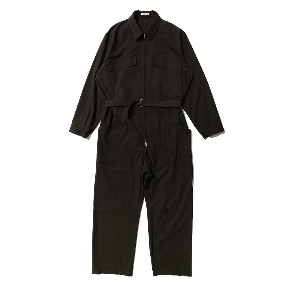 FINX HARD TWIST GABARDINE JUMPSUIT AS20ST03FB BLACK
