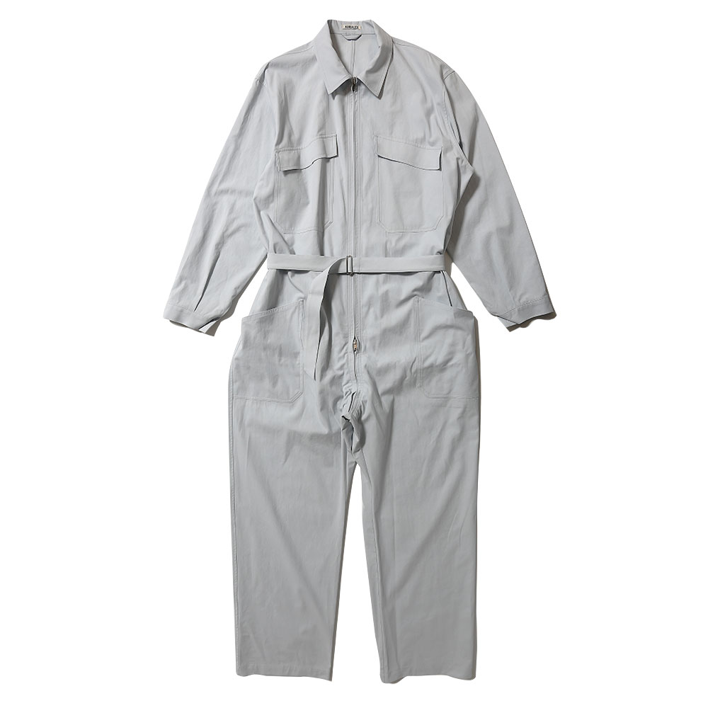 FINX HARD TWIST GABARDINE JUMPSUIT AS20ST03FB LIGHT BLUE
