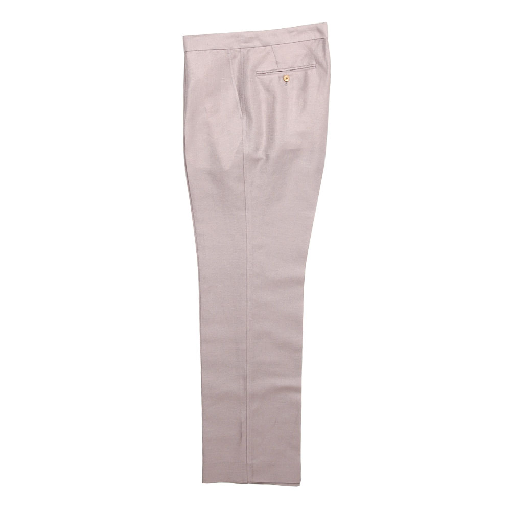 SILK LINEN DOBBY SLACKS A21SP02SD LIGHT PURPLE