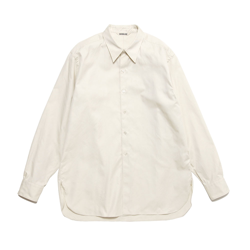 FINX SHUTTLE OX SHIRTS A21SS01FO IVORY