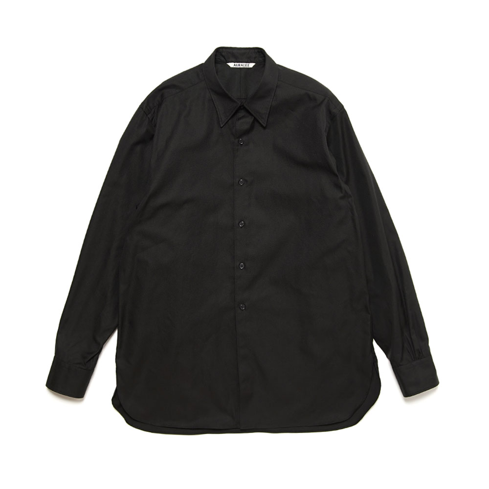FINX SHUTTLE OX SHIRTS A21SS01FO BLACK