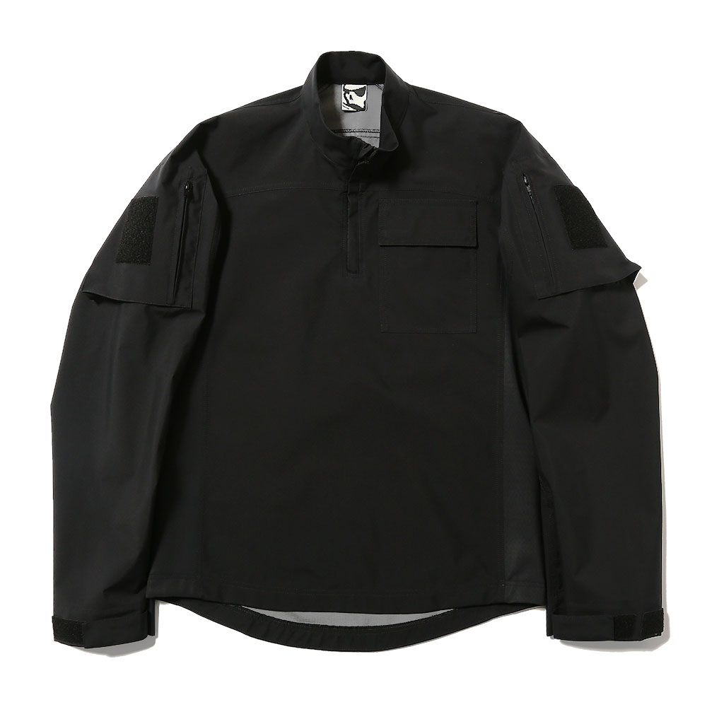 GORE-TEX FRONTLINE SOFTSHELL PULLOVER BLACK