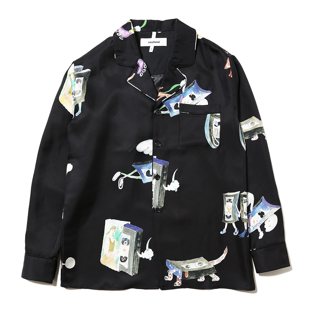 RICHMAN SILK SHIRT