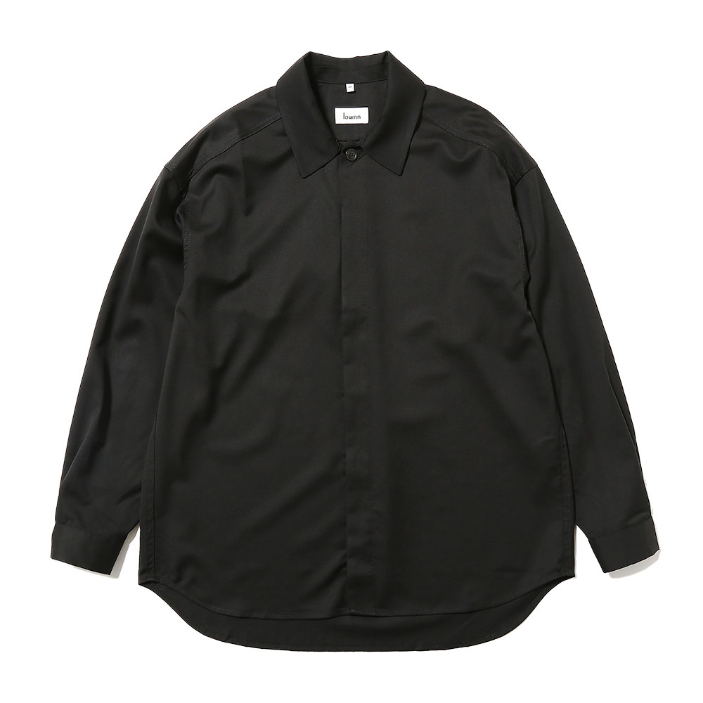 MINIMAL SHIRT LONG SLEEVES BLACK
