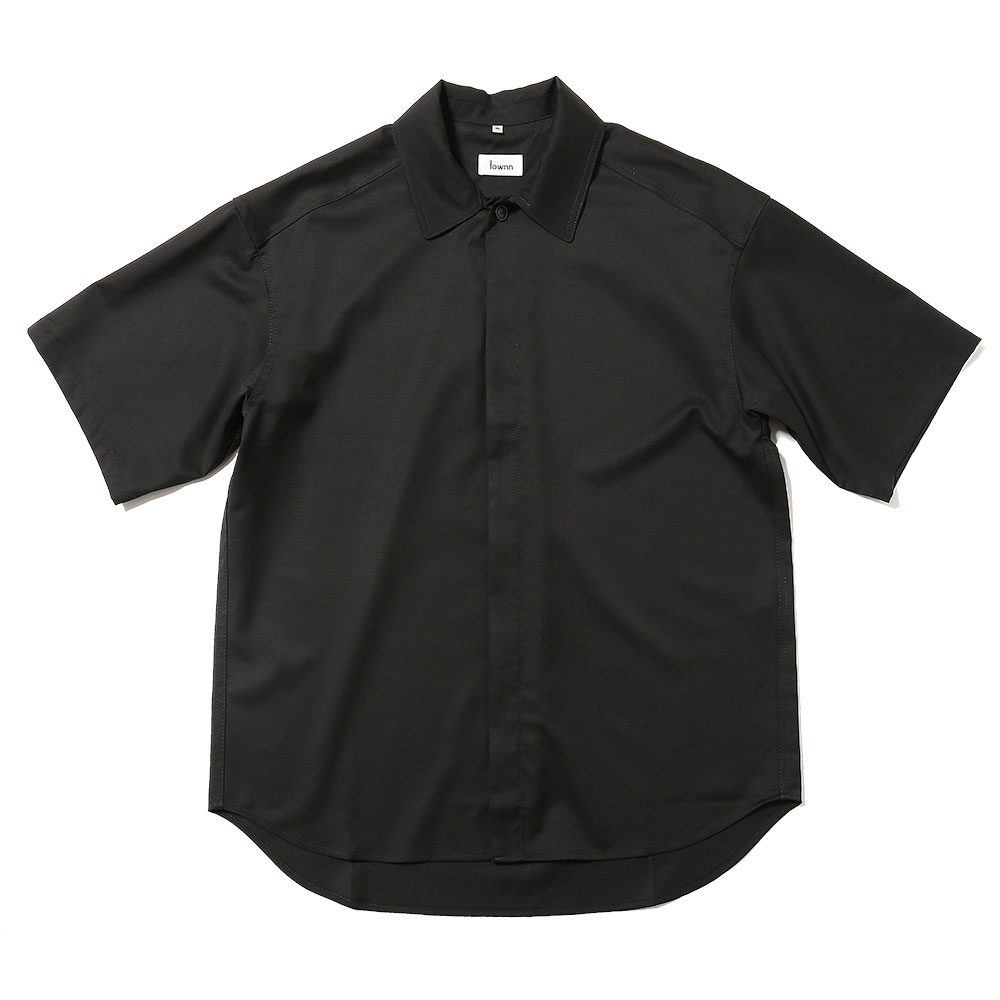 MINIMAL SHIRT SHORT SLEEVES BLACK