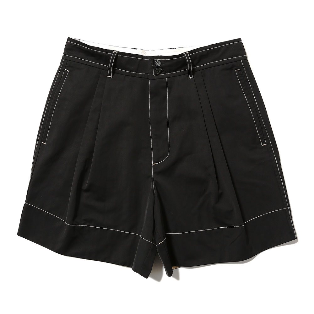 JUAN TAILORED SHORT BLACK