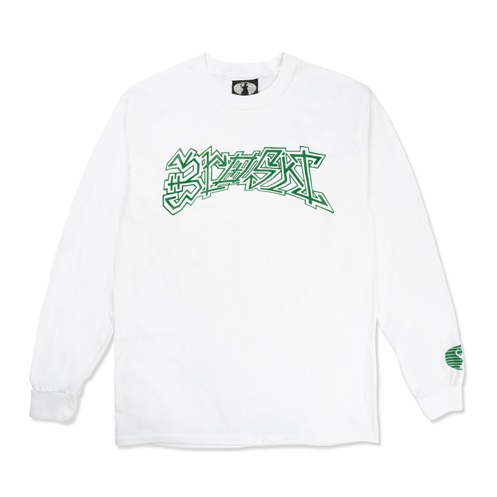 DROWZKI LS T-SHIRT WHITE