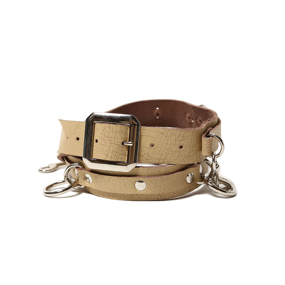 BONDAGE BELT NARROW BEIGE