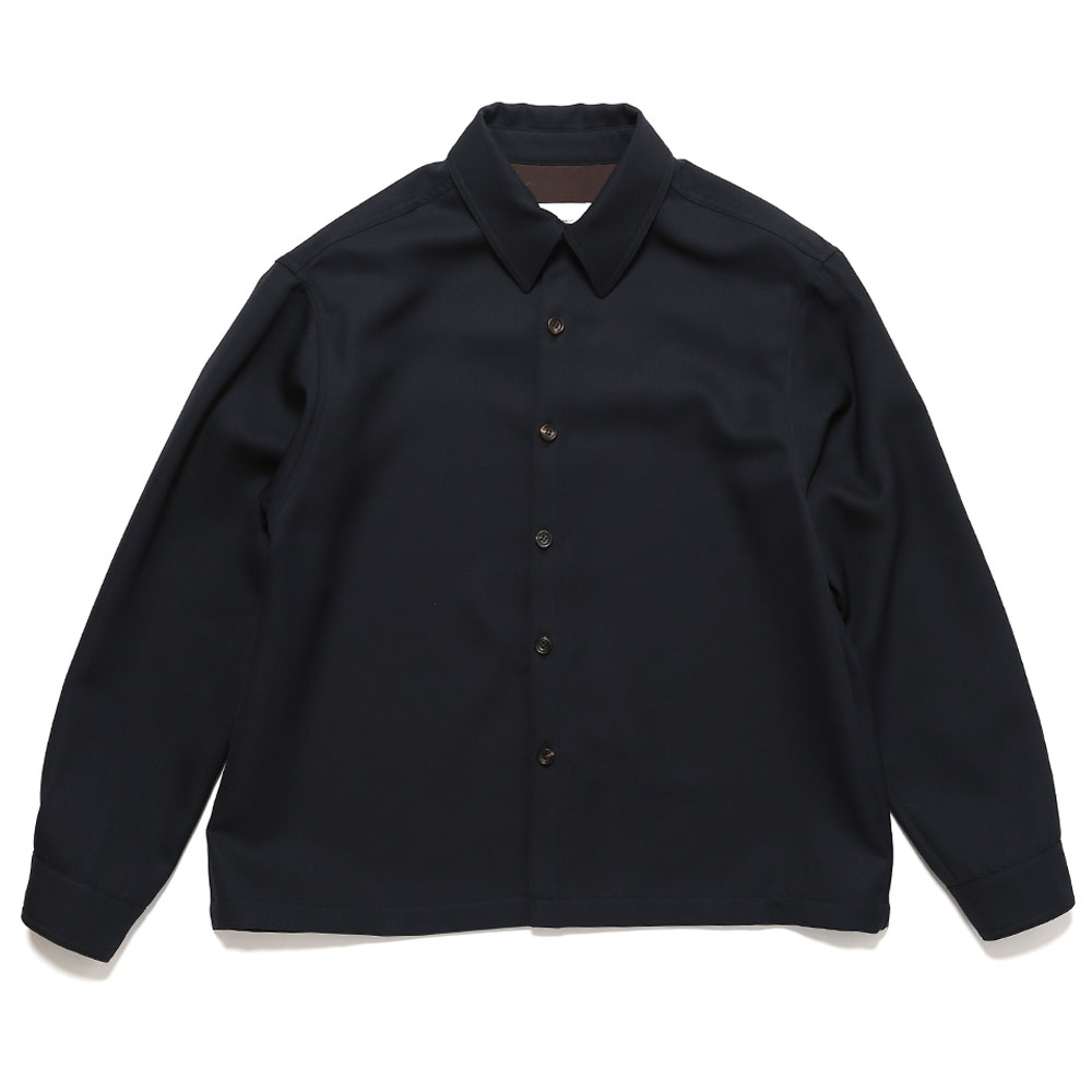 WIDE BODY SHIRT JACKET NAVY