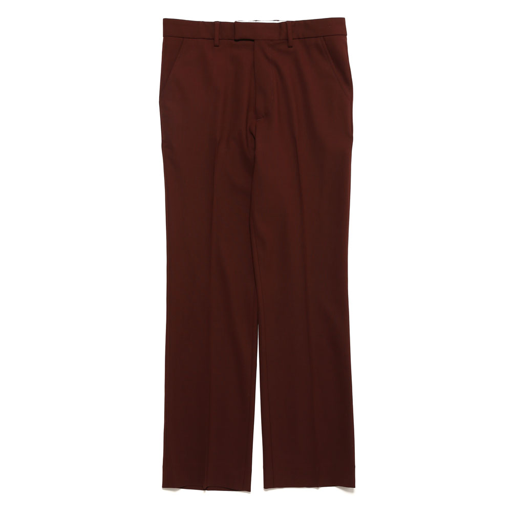 TAILORED BOOT CUT PANT WINE