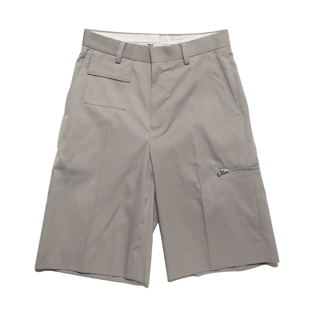 WIDE SHORTS GRAY
