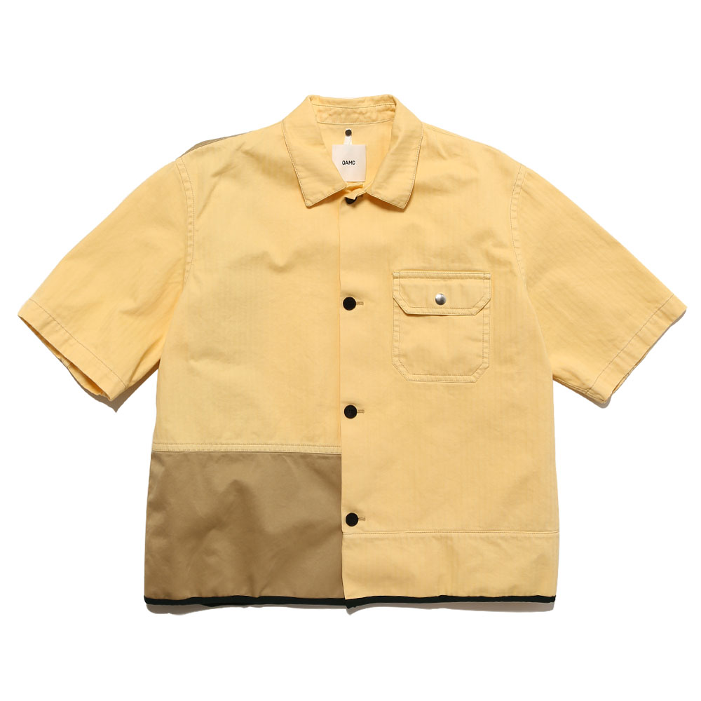 CASCADE S/S T-SHIRT PALE YELLOW