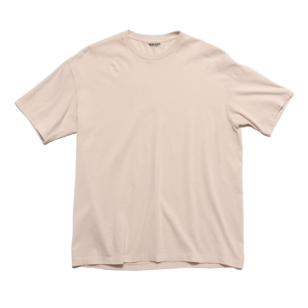 SEAMLESS CREW NECK TEE LIGHT PINK