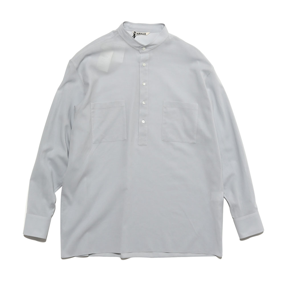 SHUTTLE GEORGETTE CLOTH P/O SHIRTS LIGHT BLUE