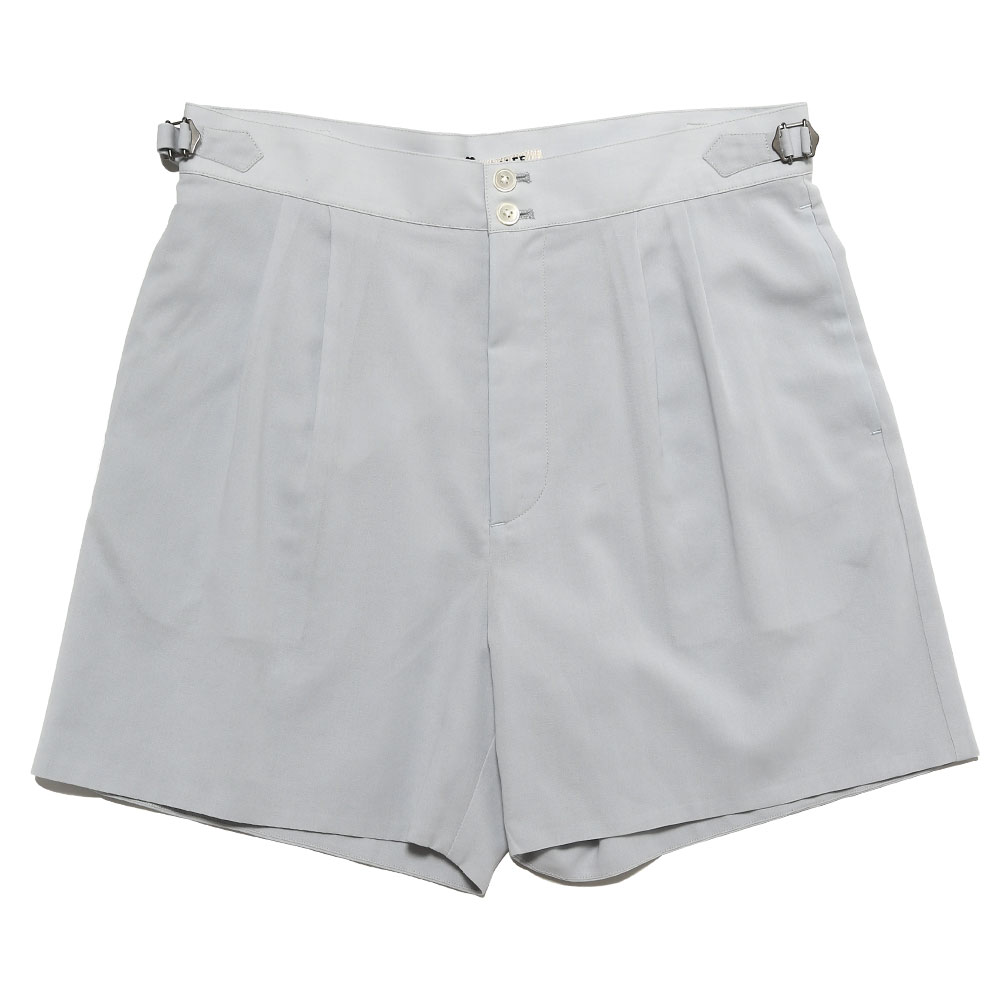 SHUTTLE GEORGETTE CLOTH DOUBLE SHORTS LIGHT BLUE