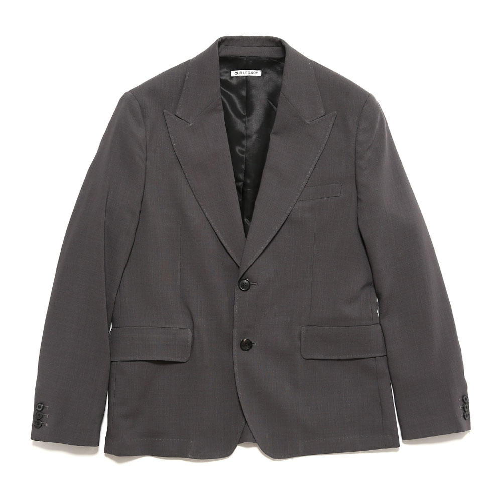 NEW BULLHEAD BLAZER GREY WOOL