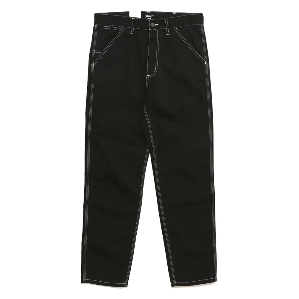PENROD PANTS BLACK RINSED