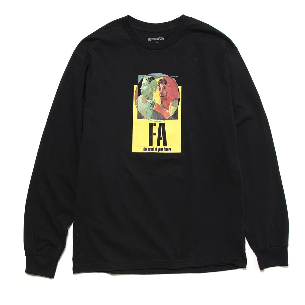 NOVEL OF YOUR FUTURE L/S TEE BLACK