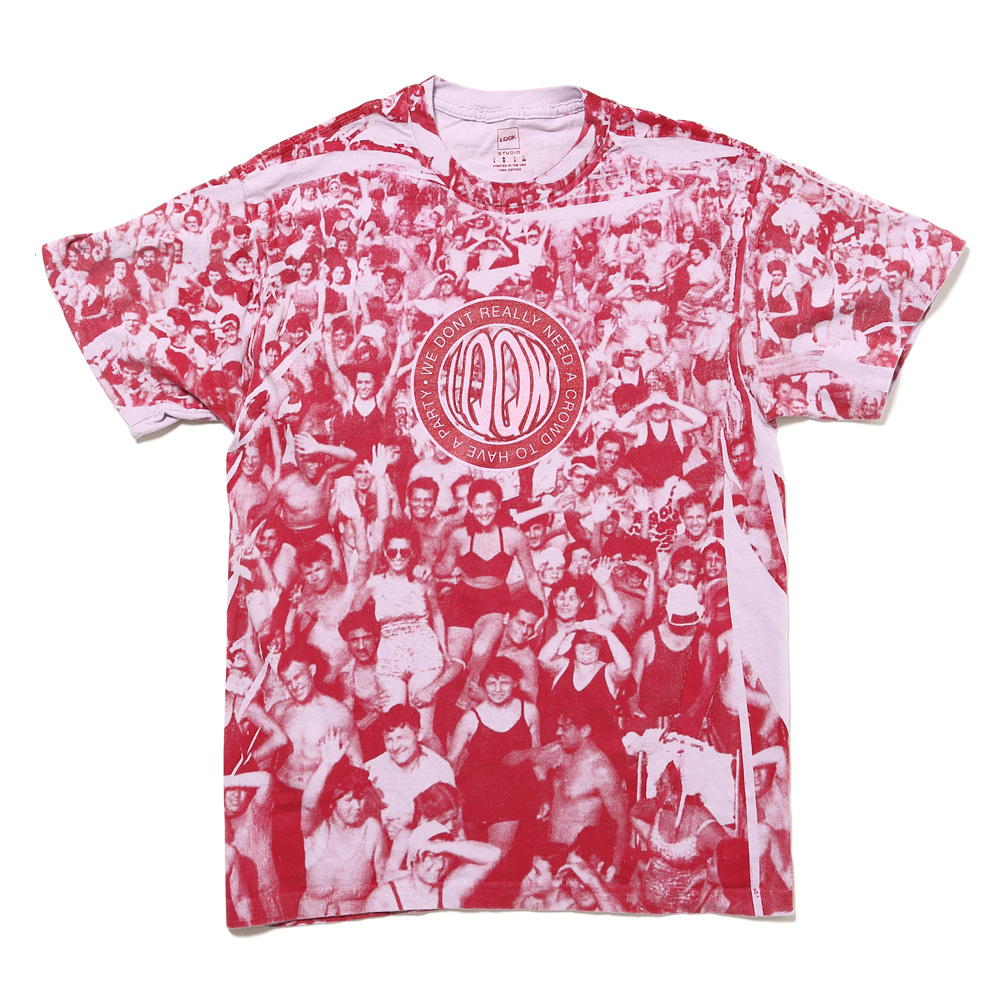 THE CROWD TEE RED