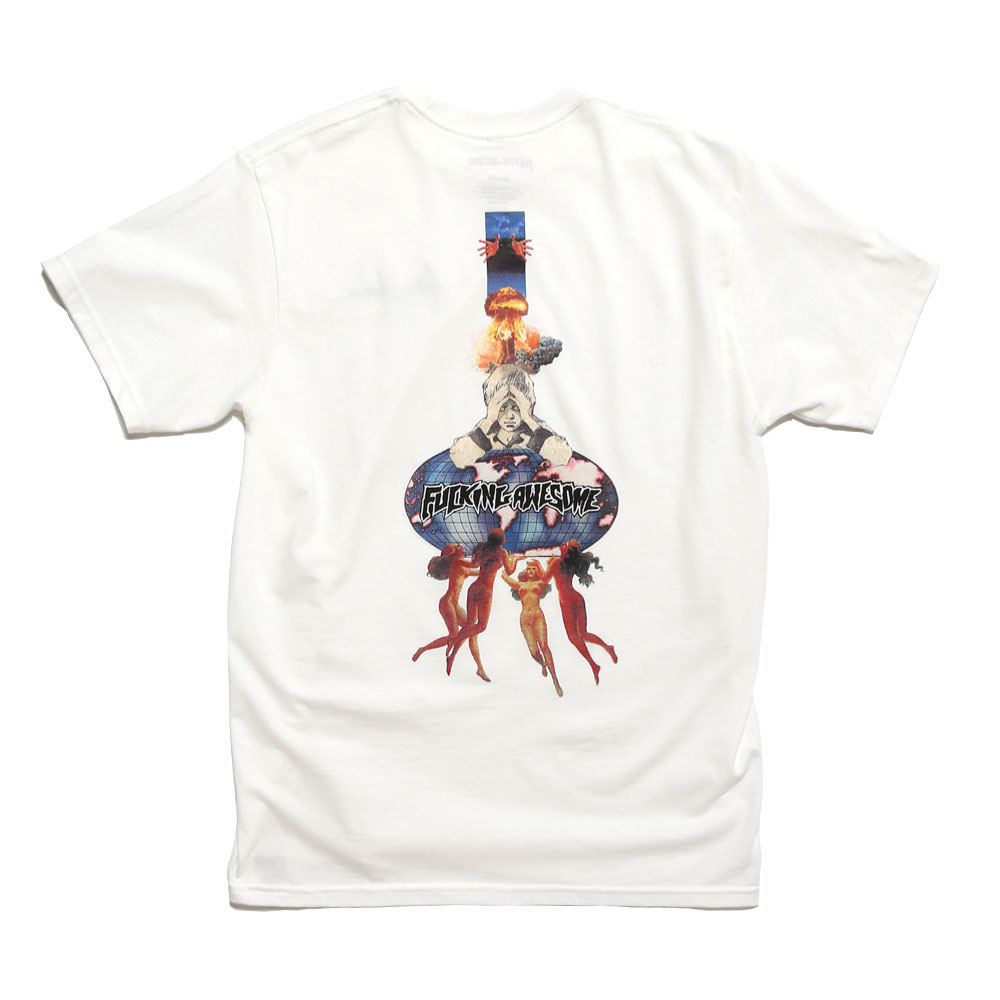 WORLD KID TEE WHITE