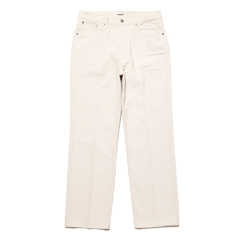 HARD TWIST DENIM 5P PANTS A20AP01DM WHITE X IVORY