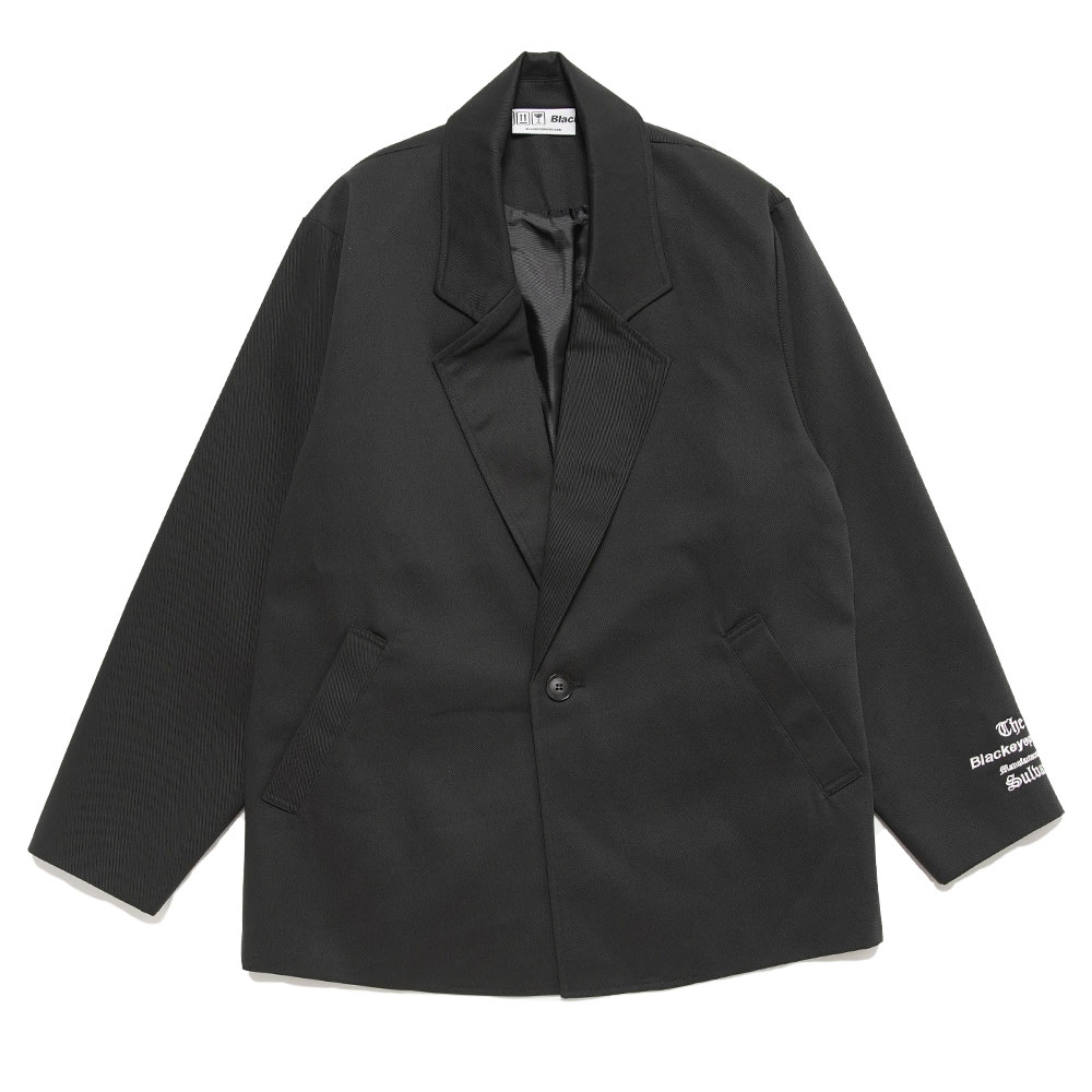 TAILORED JACKET MANUFACTURED BY SULVAM BLACK