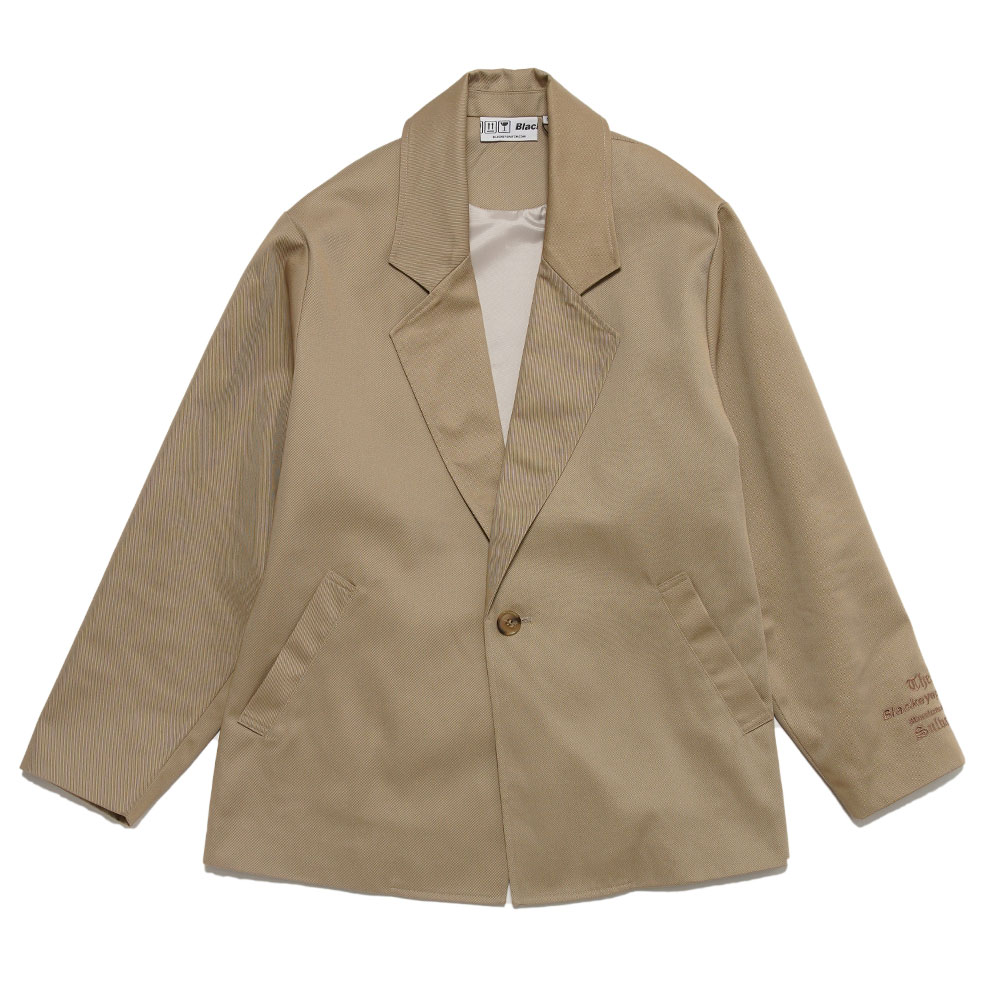 TAILORED JACKET MANUFACTURED BY SULVAM BEIGE