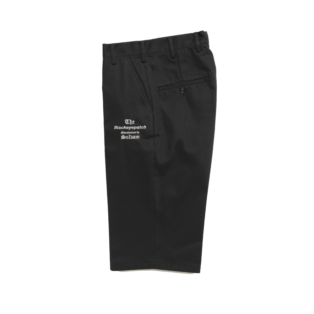 TAILORED CROPPED PANTS MANUFACTURED BY SULVAM BLACK