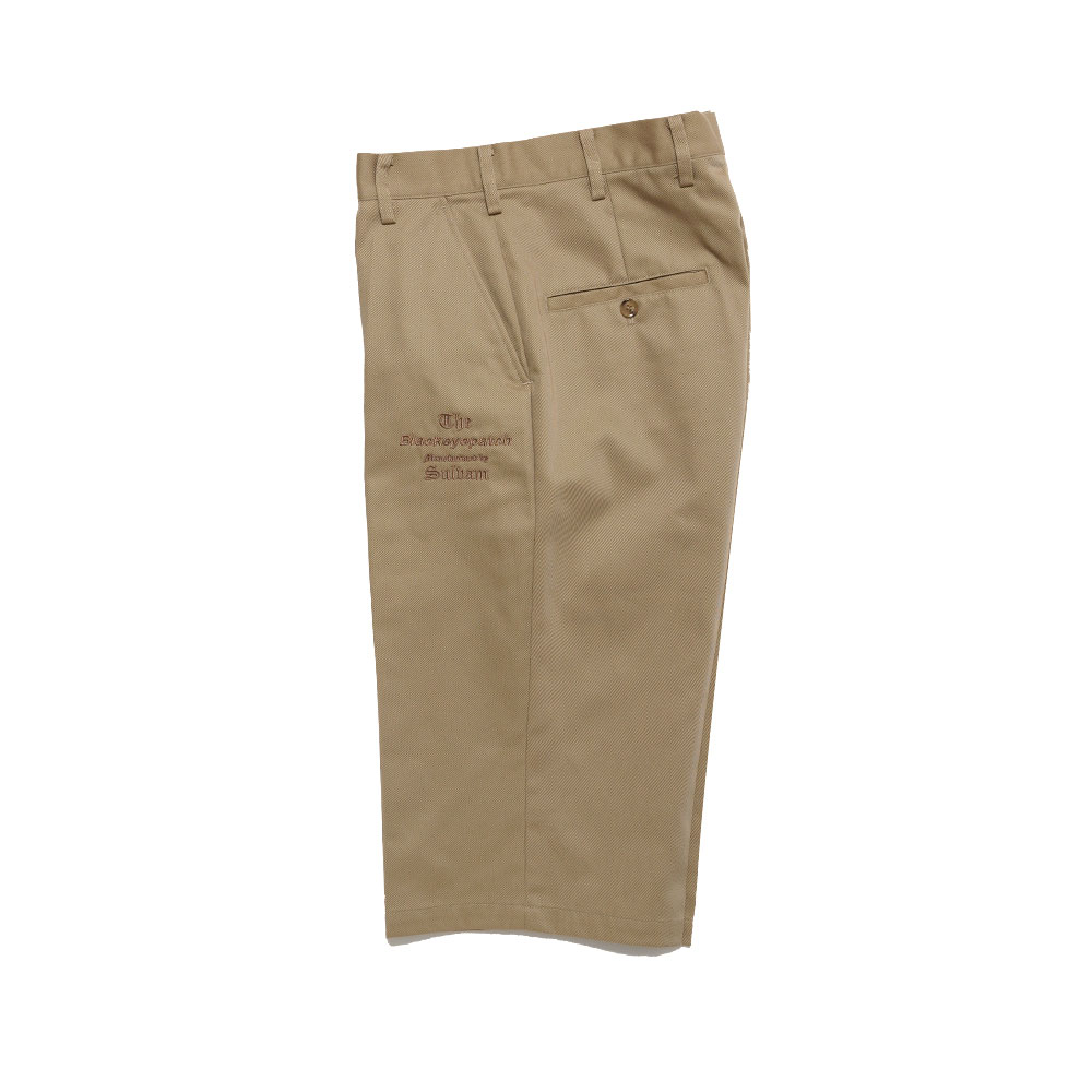 TAILORED CROPPED PANTS MANUFACTURED BY SULVAM BEIGE