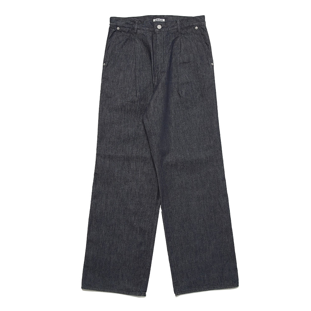 HARD TWIST DENIM WIDE SLACKS A20AP02DM INDIGO