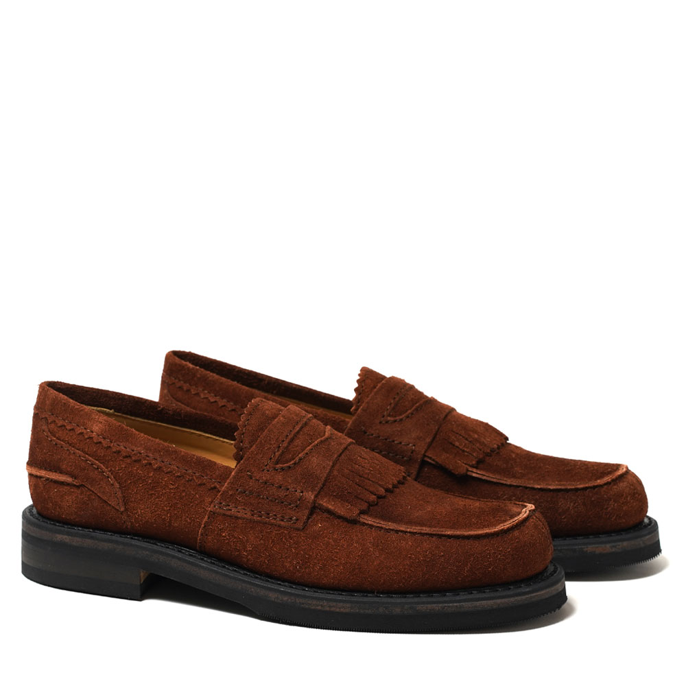 LOAFER BROWN SUEDE
