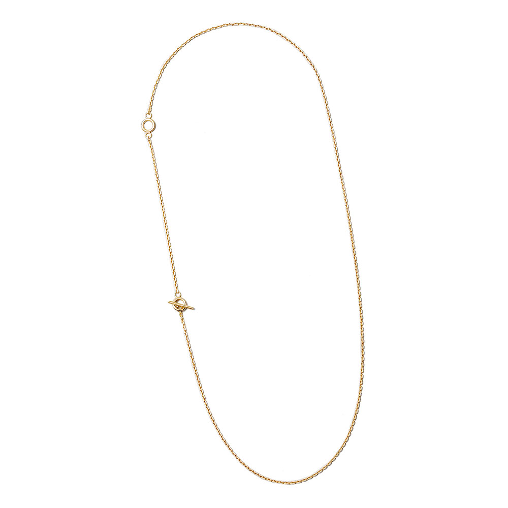 STRING NECKLACE 101507 POLISHED VERMEIL