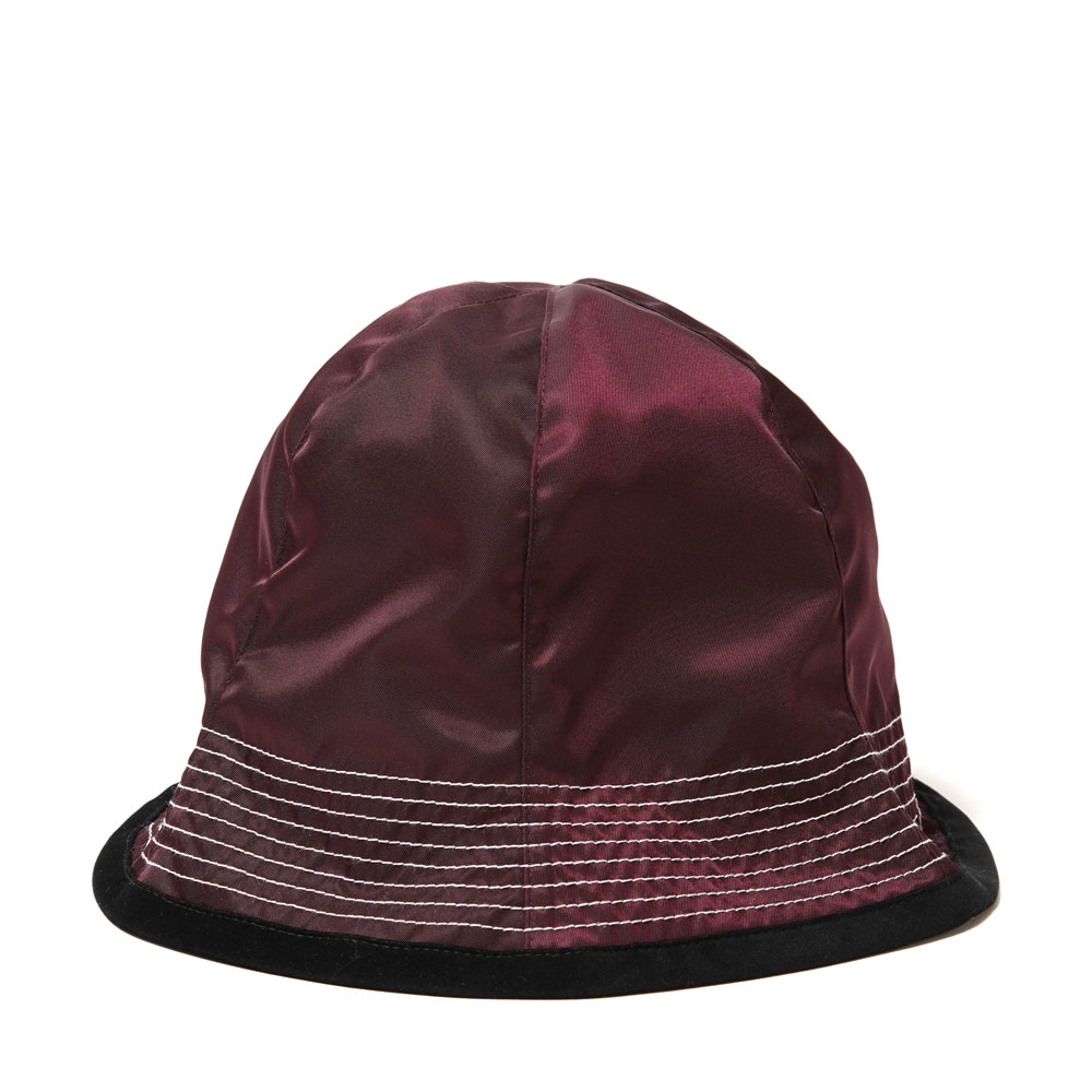 NYLON BUCKET HAT BURGUNDY