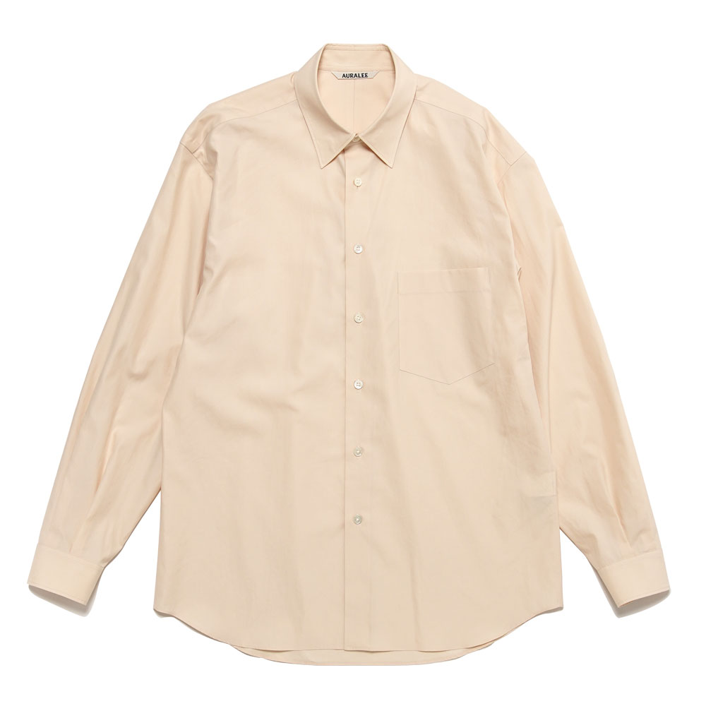 WASHED FINX TWILL SHIRTS A20AS01TN LIGHT PINK